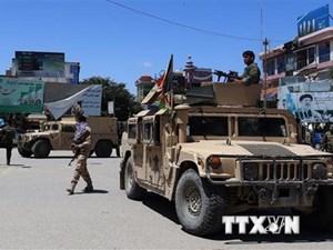 Đụng độ giữa lực lượng chính phủ Afghanistan và Taliban