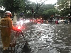 Hà Nội hễ mưa là ngập