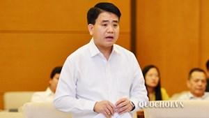 Xử lý tập thể, cá nhân liên quan đến các vụ việc nghiêm trọng tại Hà Nội