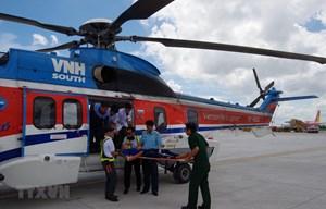 Quảng Trị đề nghị điều trực thăng cứu thuyền viên gặp nạn trên biển