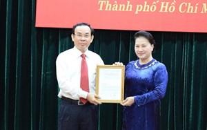 Ông Nguyễn Văn Nên được giới thiệu để bầu làm Bí thư Thành ủy TP HCM nhiệm kỳ 2020-2025