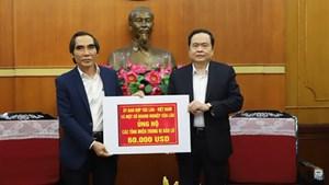 Thủ tướng đề nghị MTTQ chủ trì giám sát việc quyên góp, vận động hỗ trợ