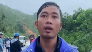 Lời kể kinh hoàng về vụ sạt lở núi ở Bắc Trà My của nhân chứng