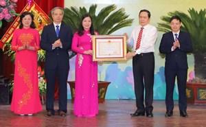 MTTQ tỉnh Thanh Hóa đón nhận Huân chương Độc lập hạng Nhất