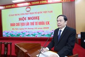 Khai mạc Hội nghị Đoàn Chủ tịch UBTƯ MTTQ Việt Nam lần thứ tư khóa IX