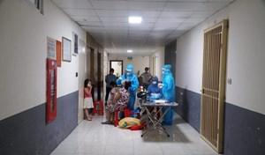 Ngành y tế hoàn thành xét nghiệm sàng lọc cho người dân TP Vinh