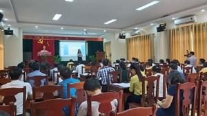 Nghệ An: 500 cán bộ tham dự lớp tập huấn công tác Mặt trận