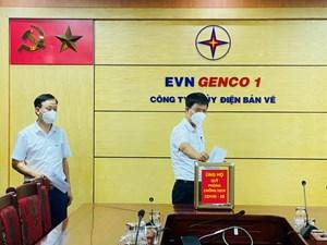 Thuỷ điện Bản Vẽ chung sức phòng, chống đại dịch Covid-19