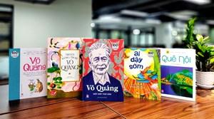 Xuất bản bộ sách nhân 100 năm ngày sinh nhà văn Võ Quảng