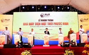 T&T Group đồng loạt hoà lưới 3 nhà máy điện mặt trời
