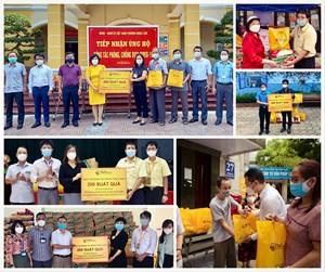 CBNV T&T Group trao tặng 3.000 suất quà cho người dân Hà Nội