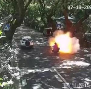 Trung Quốc cảnh báo xe đạp điện bốc cháy và phát nổ do cải tạo, thay đổi bất hợp pháp
