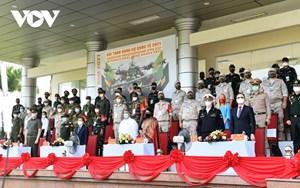Khai mạc 2 nội dung thi đấu Army Games 2021 tại Việt Nam