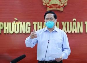 [VIDEO]: Thủ tướng phê bình công tác phòng, chống dịch của quận Thanh Xuân, Hà Nội