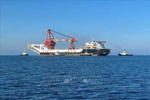 Nga hoàn tất lắp đặt đường ống 'Dòng chảy phương Bắc 2'