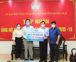 Quảng Ngãi: Phát huy vai trò Mặt trận trong công tác phòng, chống dịch