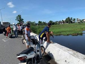 Quảng Nam: Phát hiện thi thể thanh niên dưới cầu