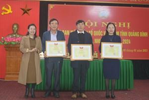 Mặt trận Quảng Bình chăm lo Tết cho các hộ nghèo vùng bị thiên tai