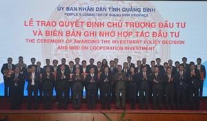 Phát huy tiềm năng, lợi thế để xây dựng Quảng Bình giàu đẹp