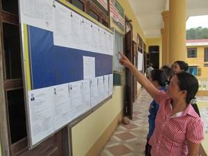 Quảng Bình: Cử tri ở 17 khu vực vùng sâu vùng xa được đi bầu cử sớm