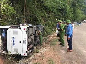 Quảng Bình: Khởi tố vụ án TNGT khiến 15 người tử vong