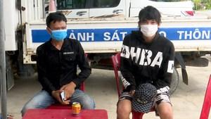 Bắt giữ hai thanh niên vượt chốt kiểm dịch phía bắc Cầu Gianh