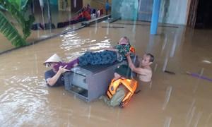 Quảng Bình: Dầm mình trong đêm để cứu dân