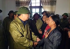 Phó Thủ tướng Chính phủ Trịnh Đình Dũng: Không để ai bị thiếu đói do thiên tai