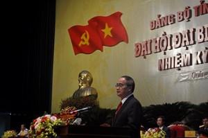 Ông Nguyễn Thiện Nhân chỉ đạo Đại hội Đảng bộ tỉnh Quảng Bình