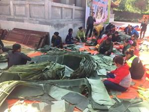 Hơn 8.000 chiếc bánh chưng Thanh Hóa gửi đến đồng bào vùng lũ