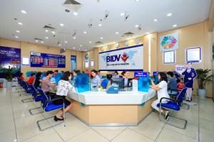 BIDV - top 10 doanh nghiệp lớn nhất Việt Nam 4 năm liên tiếp