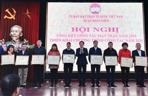 Quận Hoàn Kiếm: Đổi mới nội dung, phương thức hoạt động trong công tác Mặt trận