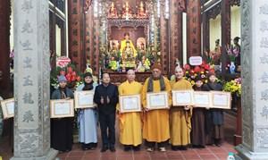 Hà Nội: Phật giáo quận Hoàn Kiếm tổng kết công tác Phật sự năm 2020