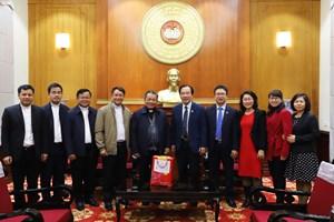 Tòa Giám mục Lạng Sơn - Cao Bằng chúc Tết Mặt trận Trung ương