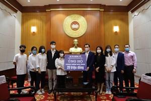 Học sinh trường THPT Phan Đình Phùng chung tay phòng, chống dịch Covid-19