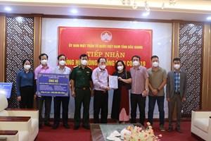 Tăng cường nguồn lực đẩy lùi dịch bệnh tại Bắc Giang