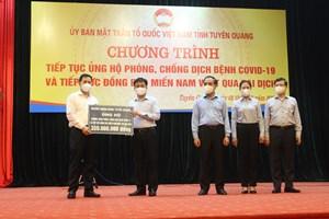 Tuyên Quang: Tiếp sức đồng bào miền Nam vượt qua đại dịch