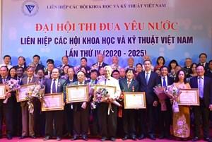Liên hiệp các Hội KH&KT Việt Nam: Tôn vinh 56 tập thể và cá nhân