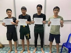 An Giang: Đêm giao thừa 4 đối tượng lội sông vượt biên về Việt Nam ăn Tết