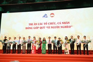 An Giang: Phát động Tháng cao điểm 'Vì người nghèo' được 125 tỷ đồng
