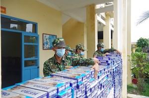 Kiên Giang: Mật phục bắt giữ gần 12.000 bao thuốc lá nhập lậu