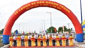 Cần Thơ: Thông xe cây cầu cửa ngõ phía Nam của thành phố