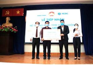 TP Hồ Chí Minh: Tiếp nhận hệ thống chẩn đoán nhanh dịch Covid-19