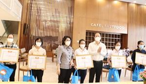70 tình nguyện viên tôn giáo (đợt 2) hoàn thành nhiệm vụ hỗ trợ phòng dịch
