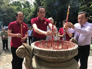 Phó Chủ tịch Phùng Khánh Tài dự lễ dâng hương kỷ niệm 60 năm thành lập Mặt trận dân tộc giải phóng miền Nam Việt Nam