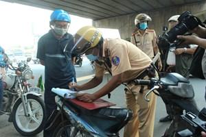 TP HCM tịch thu gần 200 xe máy cũ nát lưu thông trên đường