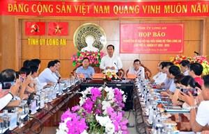 350 đại biểu dự đại hội tỉnh Long An lần thứ 11
