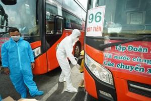Tỉnh Lâm Đồng sử dụng 165 xe ô tô đưa bà con về quê miễn phí
