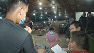 Đắk Lắk: Phát hiện 7 đối tượng tụ tập đánh bạc trong lò mổ heo