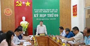 Tình tiết mới vụ 'kiểm tra dấu hiệu vi phạm đối với Trưởng ban Nội chính tỉnh Đắk Lắk'
